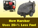 How Kärcher can save you $1,000+ per year in fuel costs